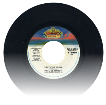 "Single ""Precious to me"" (Boardwalk Records, 1980)"